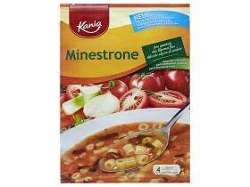 soupe de légumes avec pâtes 84g