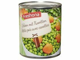 Pois aux carottes 850g