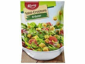 Croûtons de salade divers types 25g