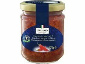 Piments en poudre dans l'huile d'olive 170g
