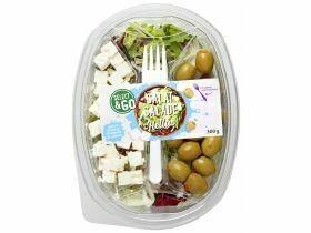 Salades avec vinaigrette divers types 300g