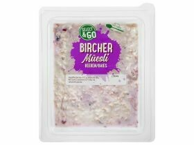 Bircher muesli frais divers types