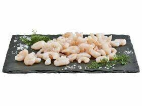 Crevettes d'eau froide MSC cuites 100g