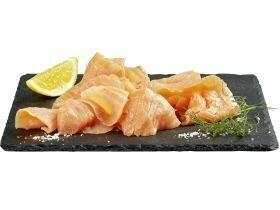 saumon fumé salé à sec 200g