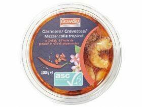 Crevettes à tapas ASC Chili / ail 100g
