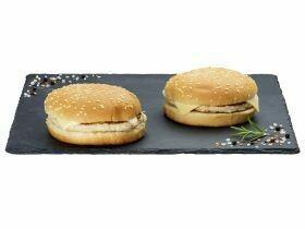 Cheeseburger au poulet 320g