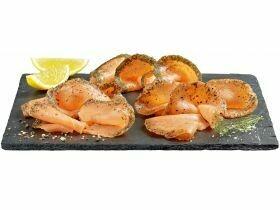 Spécialités de saumon ASC 150g de saumon + 20g de sauce, différents types