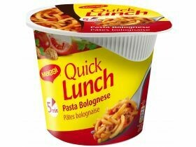 Maggi Quick Lunch divers types 45g, 65g