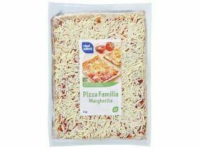 Pizza familiale divers types 1Kg