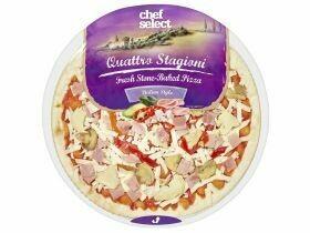 Pizza Tomate mozzarella / quattro stagioni 430g