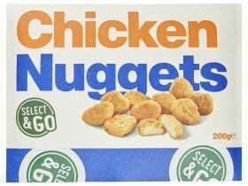 Nuggets de poulet 200g