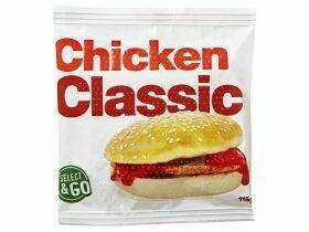 Burger de poulet 115g
