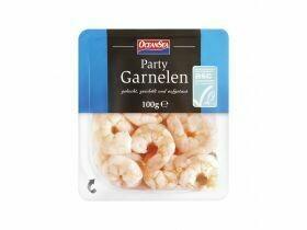 Crevettes ASC party cuites 100g