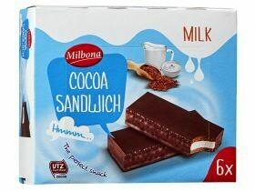 Sandwich au cacao 6x30g