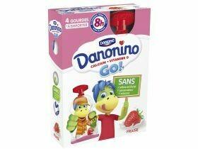 Danone Danonino Go! fraise 4x70g