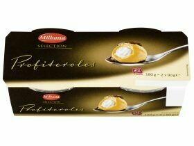 Spécialités de dessert Tiramisu / Profiteroles 2x90g