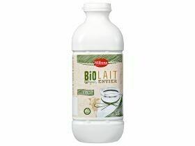 Boisson au lait bio 2,5% pasteurisé 1L