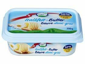 Beurre demi-gras Züger 200g