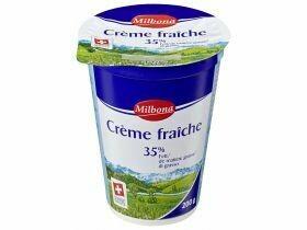 Crème fraîche nature 35% de matières grasses 200g