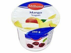 Yaourt aux fruits 1,8% divers types 250g