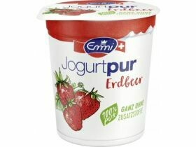 Emmi Pure Yogurt Framboise / fraise 2x150g