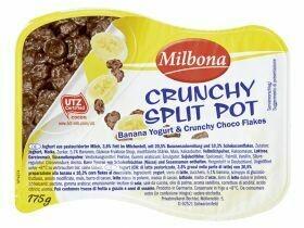 Yaourt à deux compartiments Boules de chocolat / flocons de chocolat 175g
