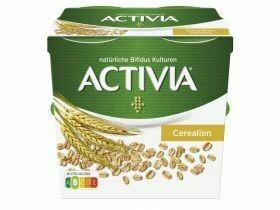 Danone Activia Classique / céréales 4x115g