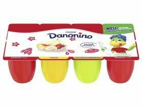 Danone Danonino Fraise / Banane / Poire Pêche 8x50g