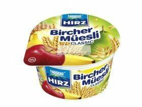 Nestlé Hirz Birchermüesli Baies / Classique 190g