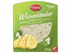 Tranches de fromage Wiesenländer, divers types 175g