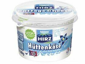 Fromage cottage Nestlé Hirz, la nature 200g