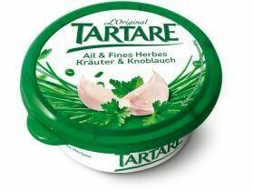 Fromage à la crème tartare Herbes & ail 150g