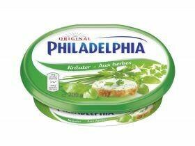 Fromage à la crème de Philadelphie Herbes 200g