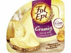Tranches de fromage Fol Epi, divers types 120g, 150g