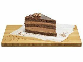 Tranche de gâteau au chocolat 130g
