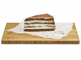 Tranche de gâteau de la Forêt-Noire 125g