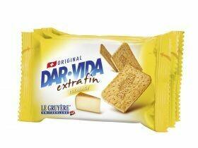 Craquelins DAR-VIDA au fromage 184g