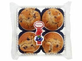 Muffins 4x divers types 360g