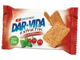 DAR-VIDA Cracker extra fin Tomates & basilic 184g