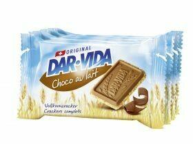 Chocolat au lait Cracker DAR-VIDA 184g