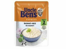 Riz express de l'oncle Ben divers types 250g