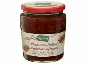 confiture Rhubarbe Fraise / Orange Thin Cut 450g