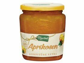 Confiture d'abricot 50% de fruits 450g
