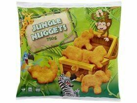 Nuggets de poulet jungle 750g