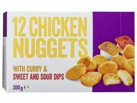 Nuggets de poulet avec trempette 300g