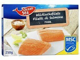 Filet de saumon sauvage MSC 250g