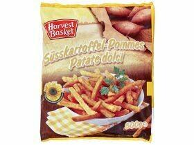 Frites de patates douces chevronné 500g