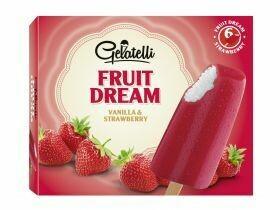 Glace Fruit Dream Fruit de la passion fraise / orange 6x60ml