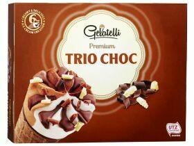 Cornets premium Chocolat à la pistache / 3 chocolats 6x120ml