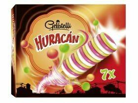 Crème glacée ouragan 7x69g